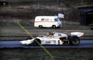 "McLaren M23 Emilio deVilotta Oulton Park Aurora F1 March 1978 10x8"" photo"